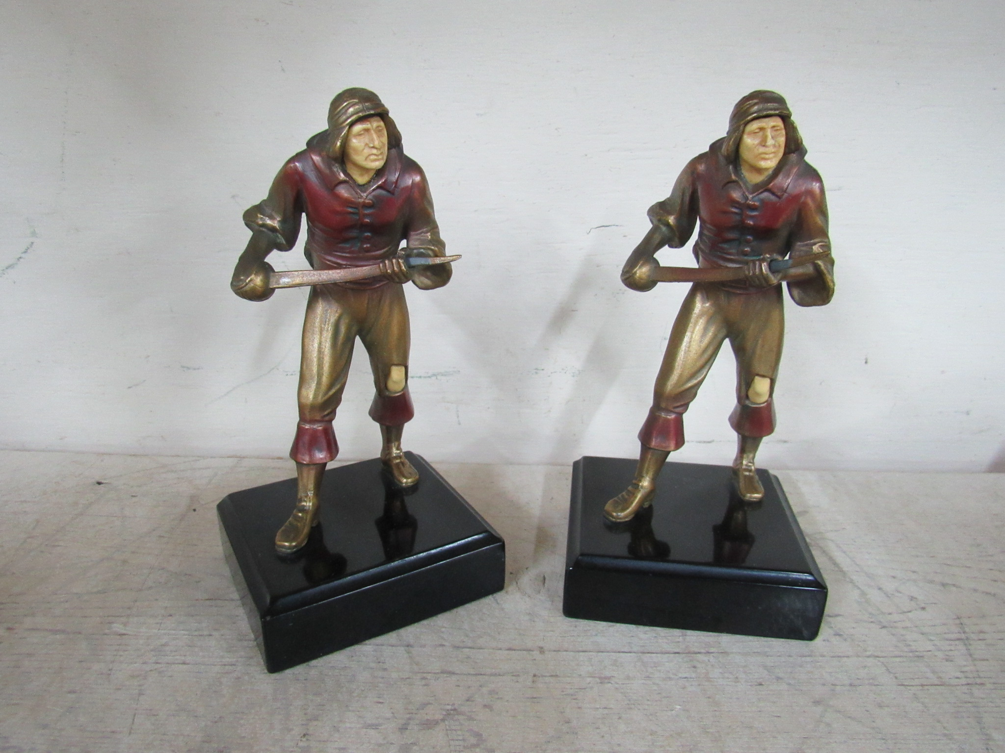J.B. Hirsh Soldier with Saber Bookend